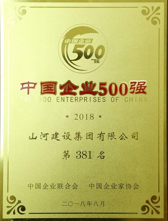 2018中国企业500强
