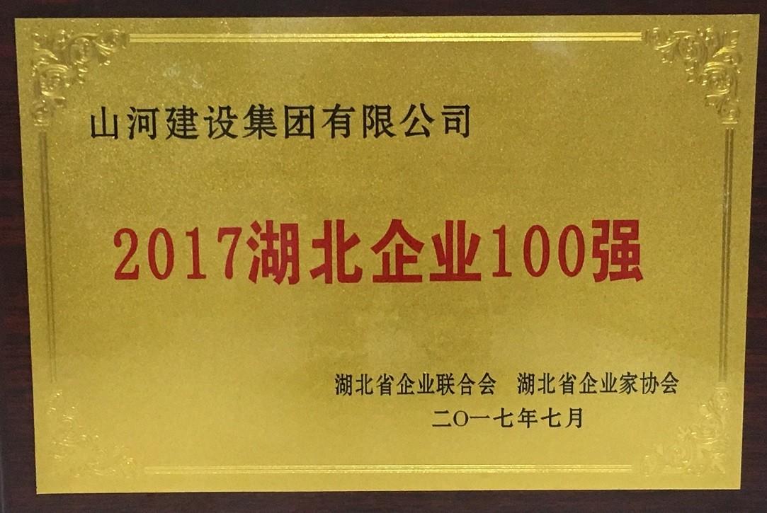 2017湖北企业100强