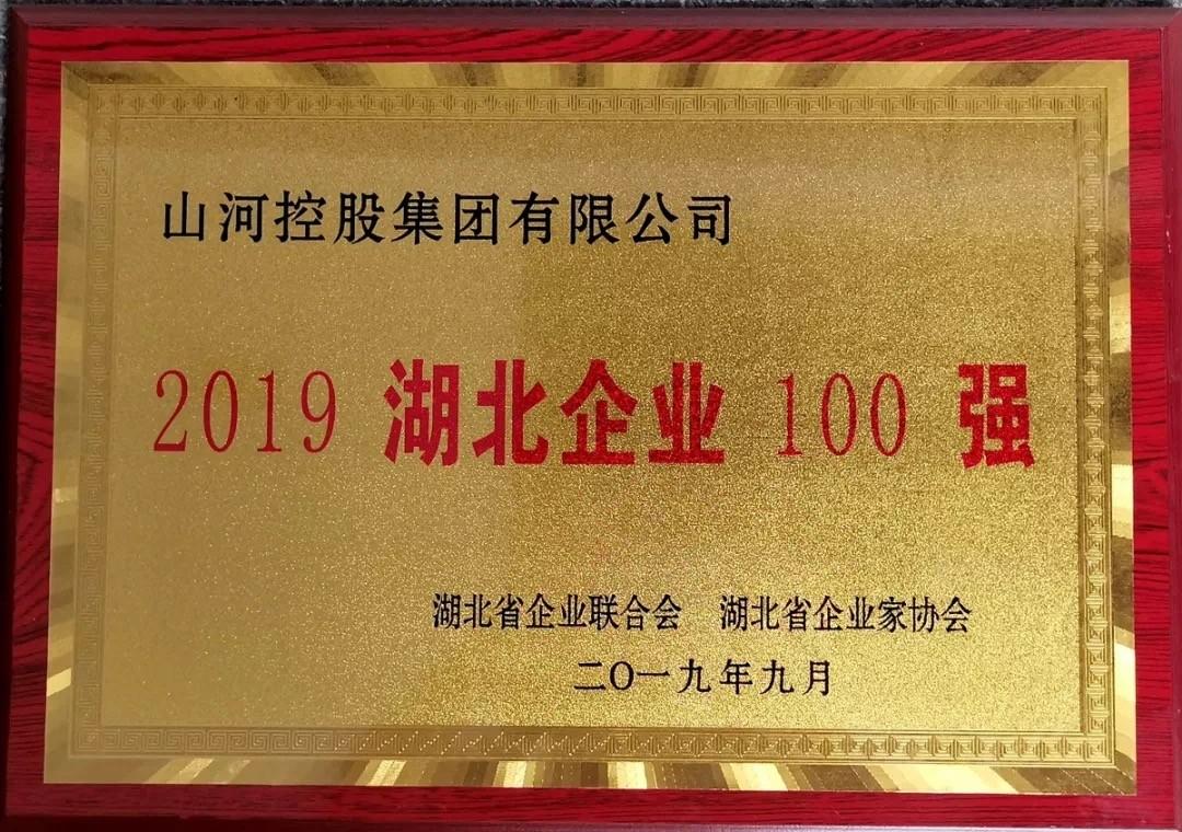 2019湖北企业100强